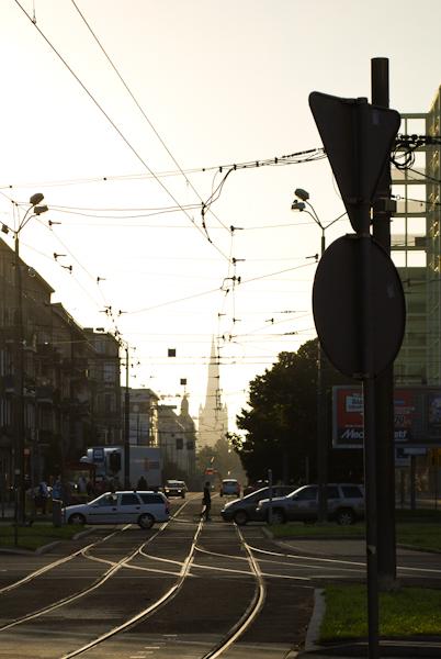 Szczecin o poranku