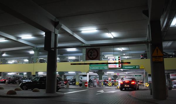 Parking nocą