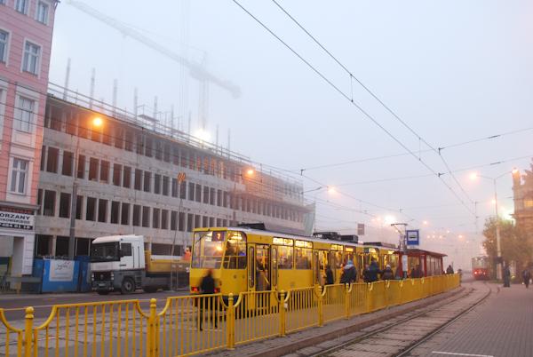 Szczecin we mgle
